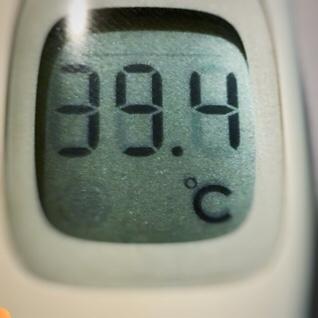 胃ガンの術後6年7ヶ月1日目は39.4℃の高熱
