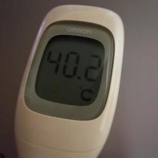再発転移ガンで日常生活にも支障が…。今日の体温は40.2℃