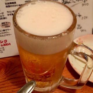 ビールを注文