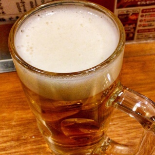 ビールで急にお腹が張り出し始めた