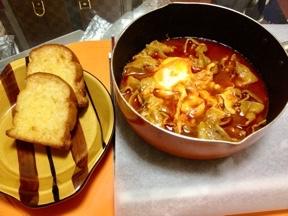 豚肉と卵2個でケチャップ煮