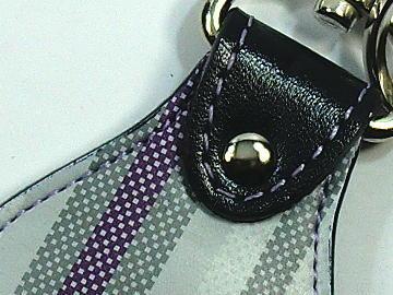 キーホルダー(ランドセル リメイク)~ステッチ(メヌエット(薄紫))