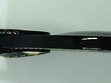 キーホルダー(ランドセル リメイク)~コバ仕上げアップ