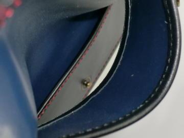 キーケース(ランドセルリメイク)~内装内貼り