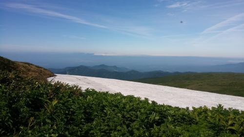 月山縦走登山2019年7月8日